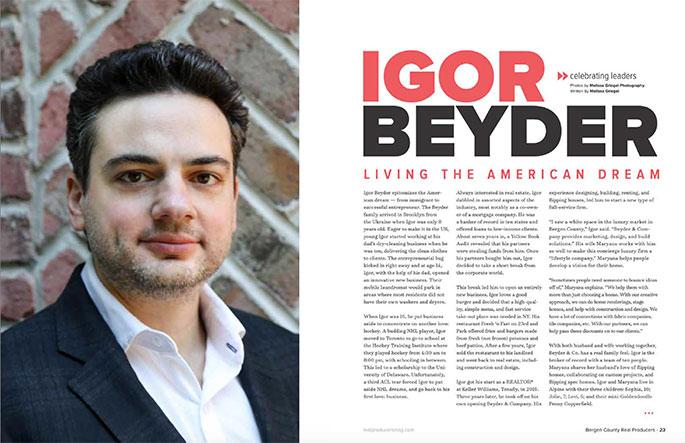 Igor Beyder - Living the American Dream